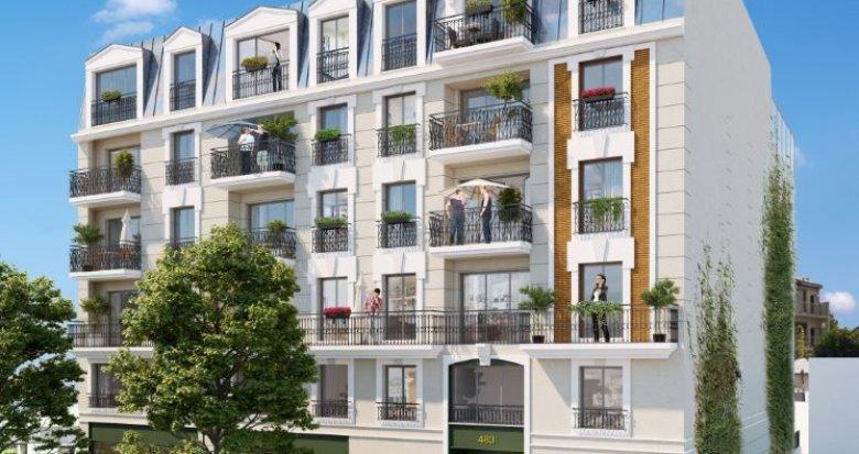 Achat / Vente programme immobilier neuf Clamart le quartier du petit Clamart (92140) - Réf. 2534
