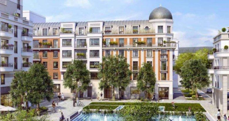 Achat / Vente programme immobilier neuf Clamart nouveau quartier Grand Canal (92140) - Réf. 3838