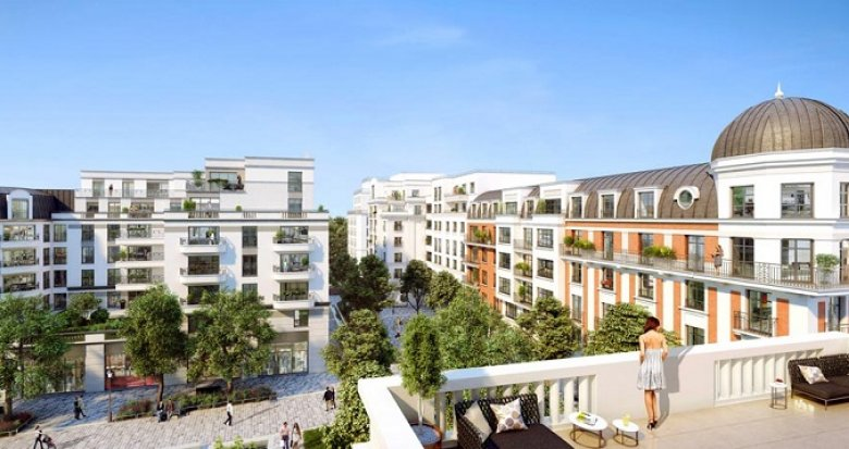 Achat / Vente programme immobilier neuf Clamart nouveau quartier Grand Canal (92140) - Réf. 2482