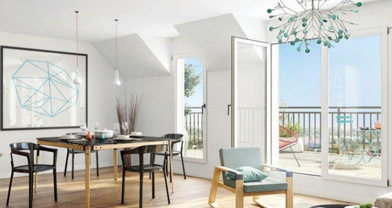 Achat / Vente programme immobilier neuf Clamart proche bois de la Garenne (92140) - Réf. 2318