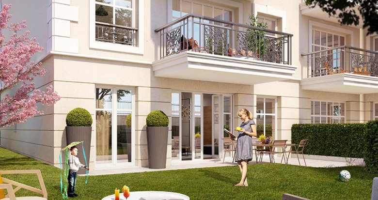 Achat / Vente programme immobilier neuf Clamart proche centre-ville (92140) - Réf. 1773