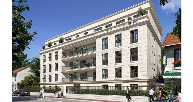 Achat / Vente programme immobilier neuf Clamart proche de Paris (92140) - Réf. 2749