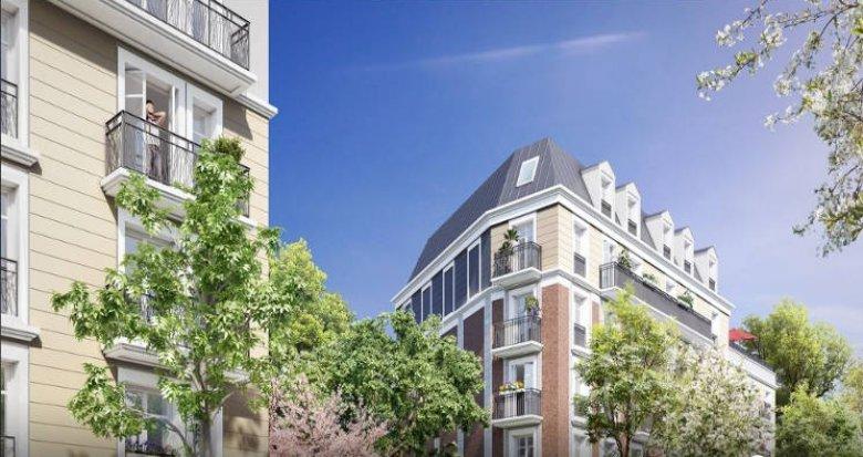 Achat / Vente programme immobilier neuf Clamart proche gare (92140) - Réf. 2952