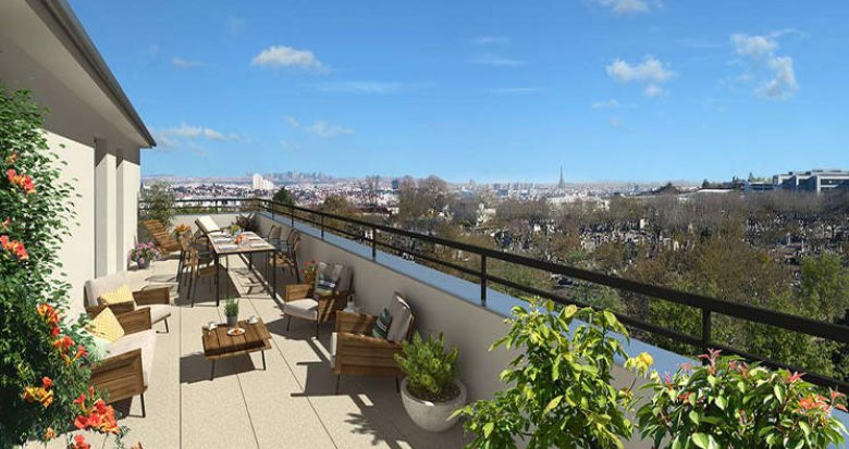 Achat / Vente programme immobilier neuf Clamart proche tramway T6 (92140) - Réf. 3232