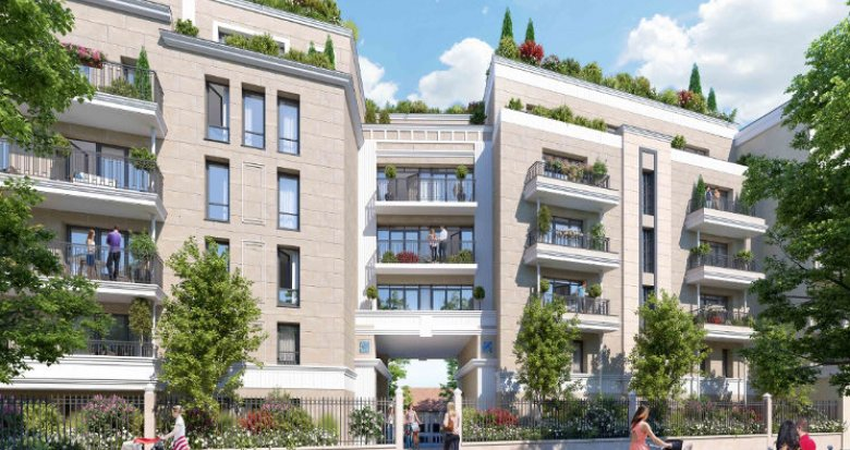 Achat / Vente programme immobilier neuf Clamart proche tramway T6 (92140) - Réf. 4788