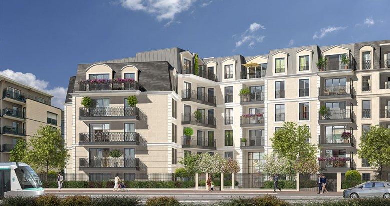 Achat / Vente programme immobilier neuf Clamart quartier du Jardin Parisien (92140) - Réf. 2541