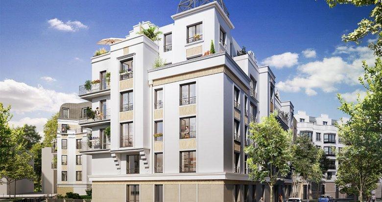 Achat / Vente programme immobilier neuf Clamart quartier Grand Canal (92140) - Réf. 3753