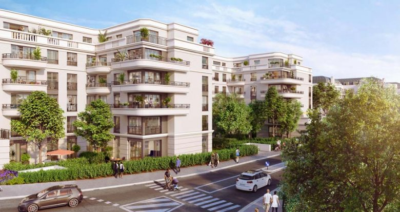 Achat / Vente programme immobilier neuf Clamart quartier Grand Canal (92140) - Réf. 2360