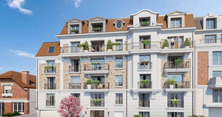 Achat / Vente programme immobilier neuf Clamart quartier résidentiel (92140) - Réf. 4309
