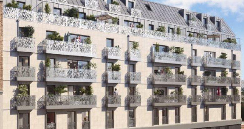 Achat / Vente programme immobilier neuf Clichy-la-Garenne proche commerces et transports (92110) - Réf. 3208