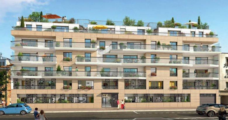 Achat / Vente programme immobilier neuf Clichy-La-Garenne proche de la gare (92110) - Réf. 4369