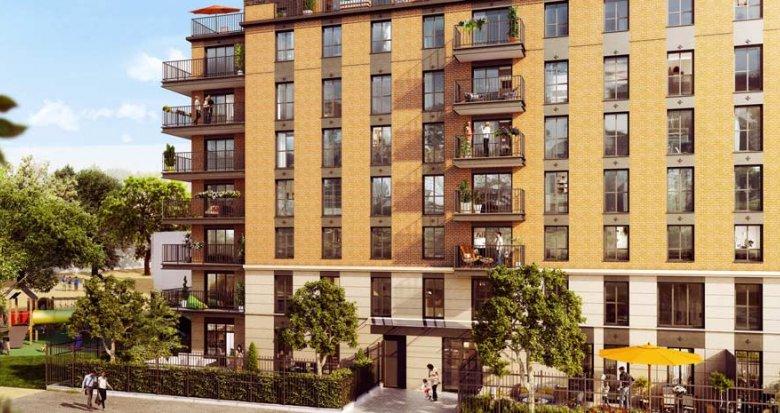 Achat / Vente programme immobilier neuf Clichy quartier de le ZAC Espace Clichy (92110) - Réf. 3099