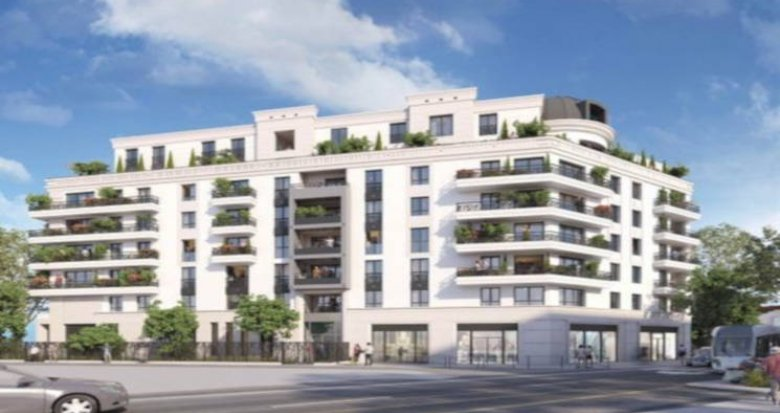 Achat / Vente programme immobilier neuf Colombes proche gare transilien J (92700) - Réf. 3794