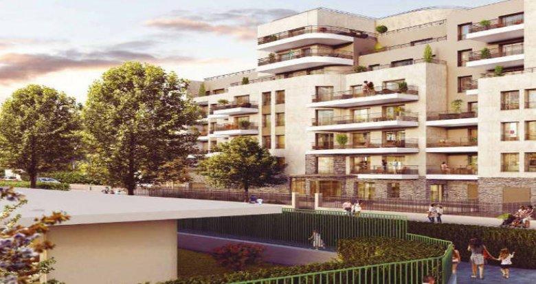 Achat / Vente programme immobilier neuf Colombes proche Parc Lagardère (92700) - Réf. 3962