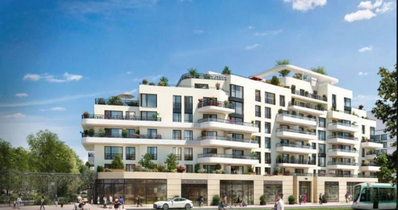 Achat / Vente programme immobilier neuf Colombes proche Stade Olympique Yves du Manoir (92700) - Réf. 3392