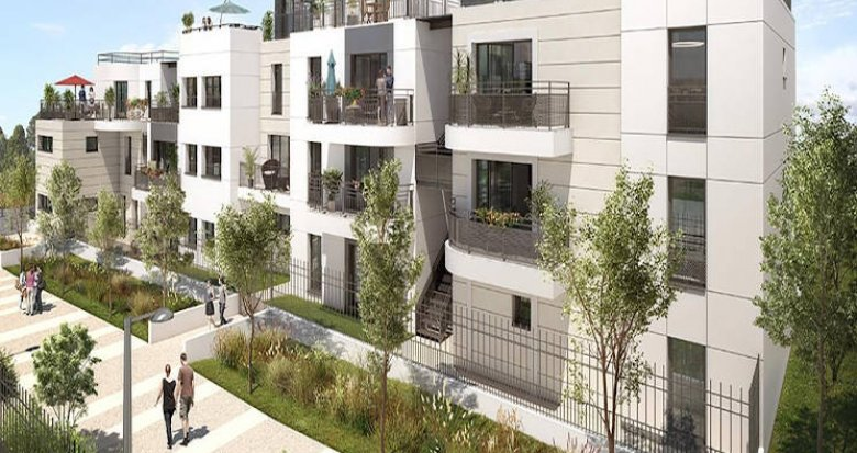 Achat / Vente programme immobilier neuf Colombes proche Tramway ligne 2 (92700) - Réf. 3645