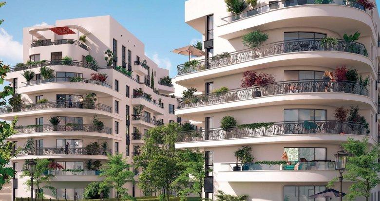 Achat / Vente programme immobilier neuf Colombes quartier de l'Arc Sportif (92700) - Réf. 6154