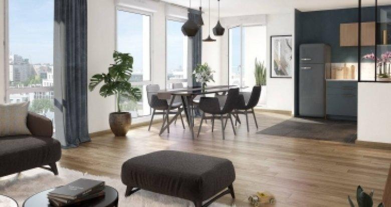 Achat / Vente programme immobilier neuf Courbevoie quartier du Faubourg de l'Arche (92400) - Réf. 2017