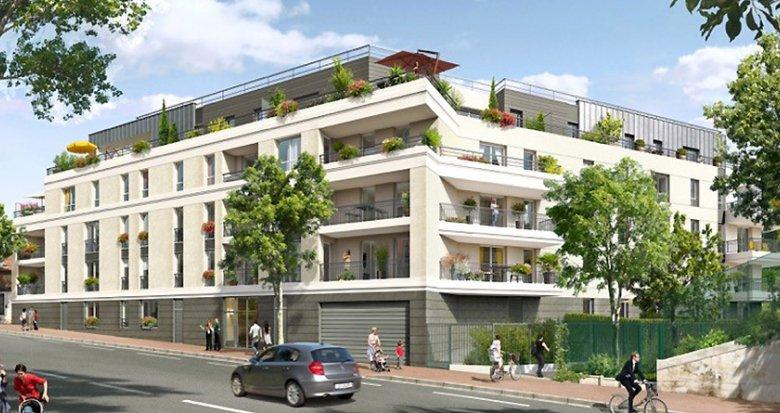 Achat / Vente programme immobilier neuf Fontenay-aux-Roses proche Gare de Robinson RER B (92260) - Réf. 1815