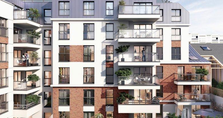 Achat / Vente programme immobilier neuf Garches face à l'hippodrome (92380) - Réf. 1650