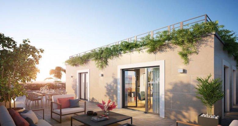 Achat / Vente programme immobilier neuf Garches proche centre-ville (92380) - Réf. 4532