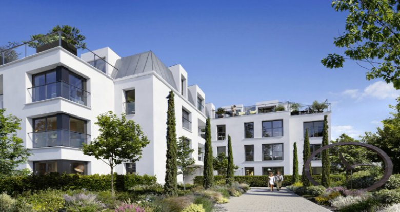 Achat / Vente programme immobilier neuf Garches proche fôret de la Malmaison (92380) - Réf. 5150