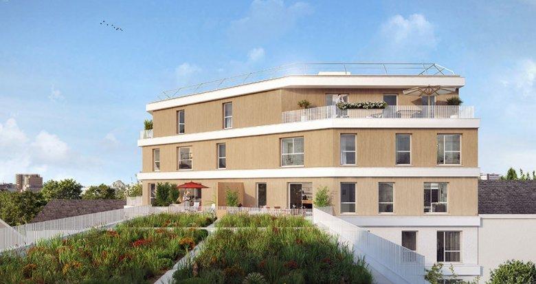 Achat / Vente programme immobilier neuf Gennevilliers centre (92230) - Réf. 1883