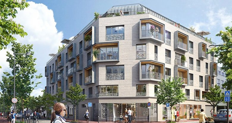 Achat / Vente programme immobilier neuf Issy-les-Moulineaux proche centre-ville (92130) - Réf. 787