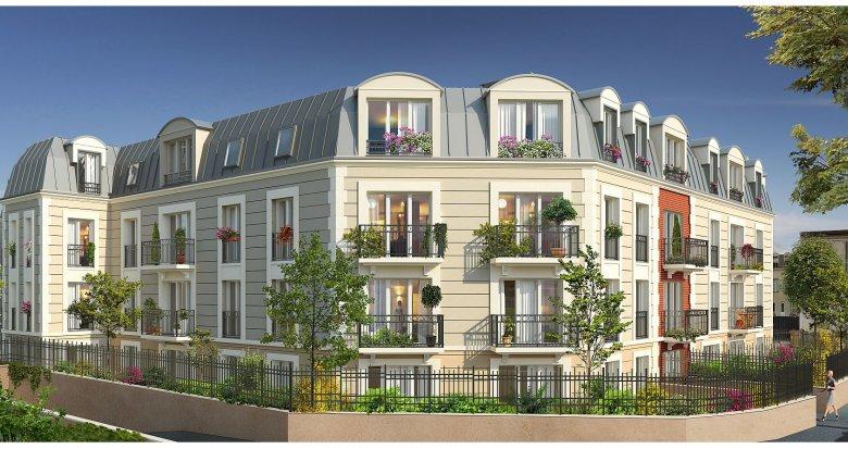 Achat / Vente programme immobilier neuf La Garenne-Colombes proche Place de la Liberté (92250) - Réf. 2044