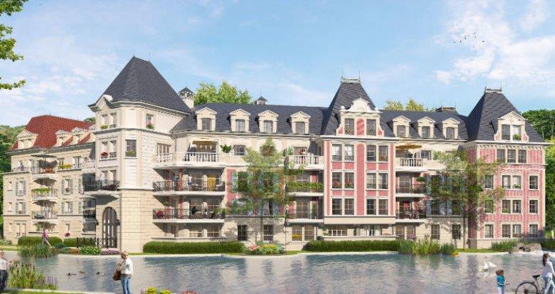 Achat / Vente programme immobilier neuf Le Plessis-Robinson à 2 pas des transports (92350) - Réf. 5039