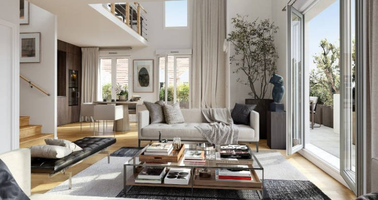 Achat / Vente programme immobilier neuf Le Plessis-Robinson au coeur du quartier Descartes (92350) - Réf. 5933