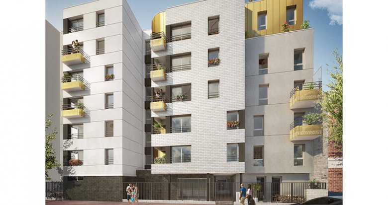Achat / Vente programme immobilier neuf Malakoff proche commerces et transports (92240) - Réf. 2467