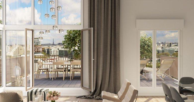 Achat / Vente programme immobilier neuf Meudon quartier Bellevue proche Seine (92190) - Réf. 1640