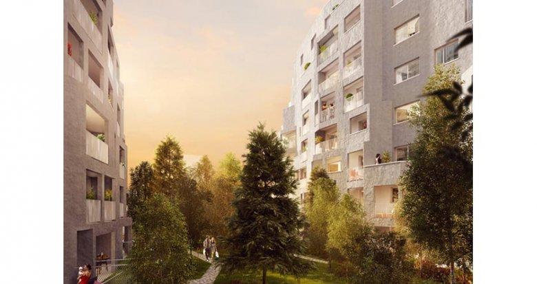 """Achat / Vente programme immobilier neuf Nanterre proche RER A """"Nanterre Coeur Université"""" (92000) - Réf. 1520"""