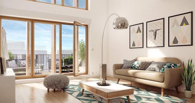 Achat / Vente programme immobilier neuf Nanterre proche RER A Nanterre-Université (92000) - Réf. 462