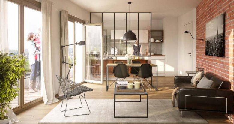 Achat / Vente programme immobilier neuf Nanterre quartier de la boule (92000) - Réf. 2317
