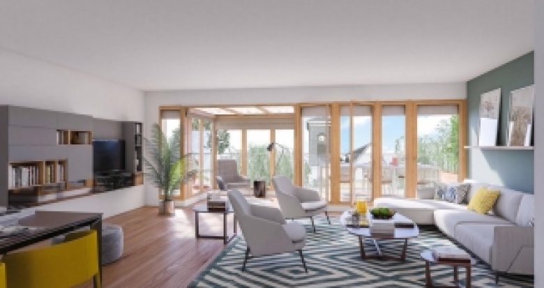 Achat / Vente programme immobilier neuf Paris 11 face au square Raoul Nordling (75011) - Réf. 2021