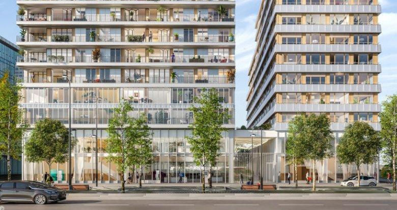 Achat / Vente programme immobilier neuf Paris 13 à 5 min métro et RER C (75013) - Réf. 4598