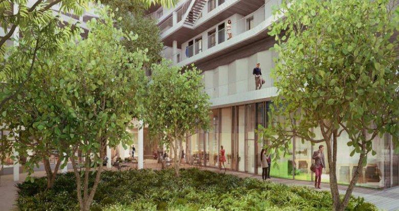 Achat / Vente programme immobilier neuf Paris 13 proche RER et Université Sorbonne (75013) - Réf. 4671