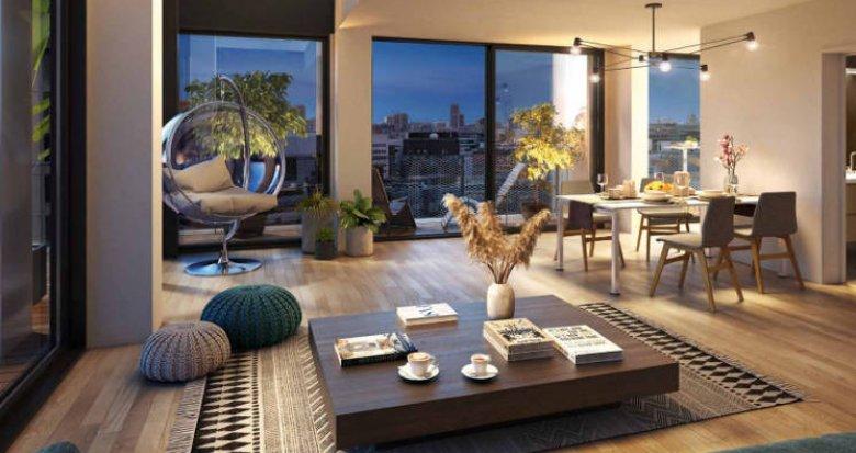 Achat / Vente programme immobilier neuf Paris 13e au coeur du quartier Bruneseau (75013) - Réf. 5337