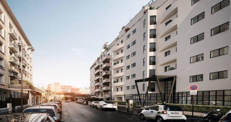 Achat / Vente programme immobilier neuf Paris 15ème secteur dynamique (75015) - Réf. 4714