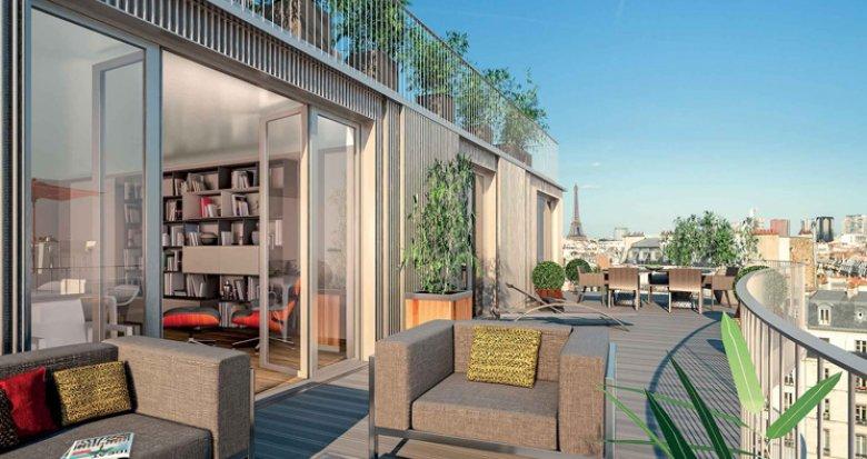 Achat / Vente programme immobilier neuf Paris 16 porte d'Auteuil (75016) - Réf. 1256