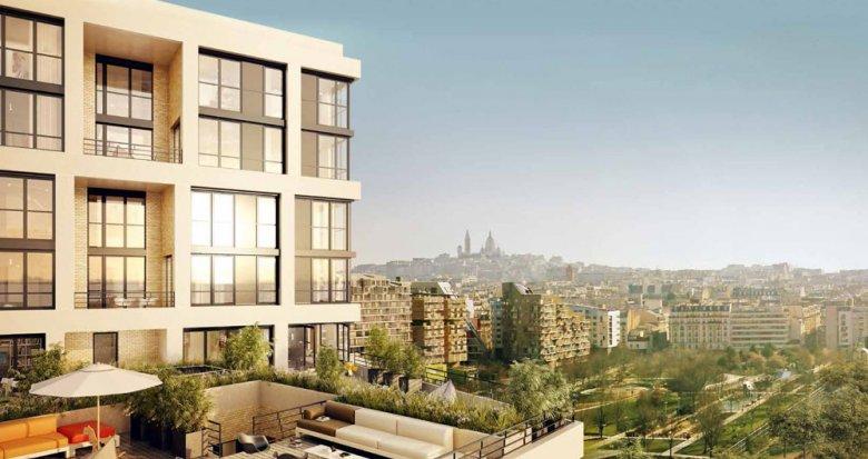 Achat / Vente programme immobilier neuf Paris 17 quartier Batignolles - Monceau (75017) - Réf. 174