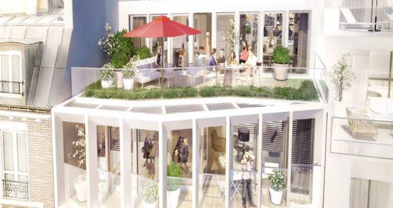 Achat / Vente programme immobilier neuf Paris 18 à 350 mètres du métro (75018) - Réf. 3744