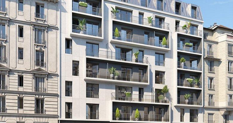 Achat / Vente programme immobilier neuf Paris 18 proche métro 2 (75018) - Réf. 2437