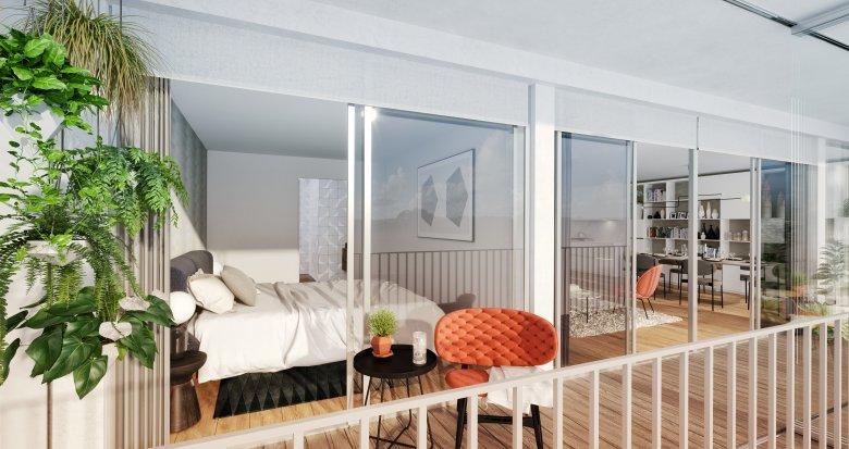 Achat / Vente programme immobilier neuf Paris 18ème quartier de Montmartre (75018) - Réf. 2620