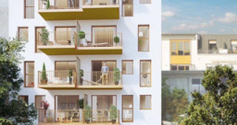 Achat / Vente programme immobilier neuf Paris 20 quartier Saint-Fargeau (75020) - Réf. 3031