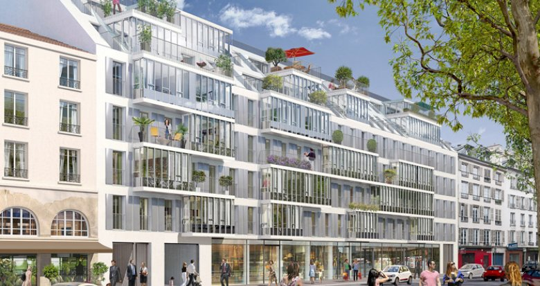Achat / Vente programme immobilier neuf Paris 5 Rive Gauche (75005) - Réf. 721