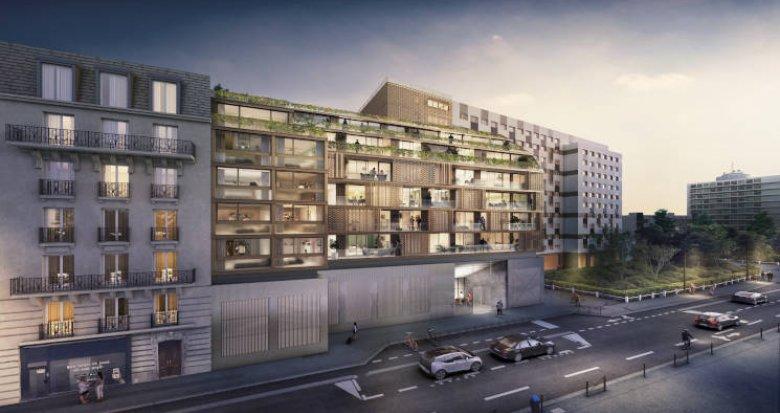 Achat / Vente programme immobilier neuf Paris au coeur du 15eme arrondissement (75015) - Réf. 4620