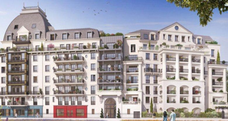 Achat / Vente programme immobilier neuf Puteaux l'écoquartier des Bergères (92800) - Réf. 3249
